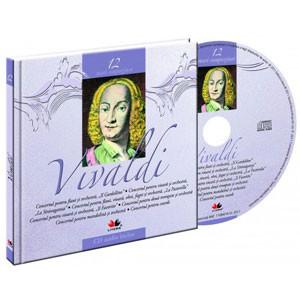 Antonio Lucio Vivaldi, Mari compozitori, Vol. 12 [Carte + Audio CD]