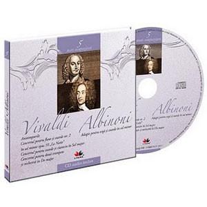 Antonio Vivaldi si Tomaso Albinoni, Mari compozitori, Vol. 5 [Carte + Audio CD]