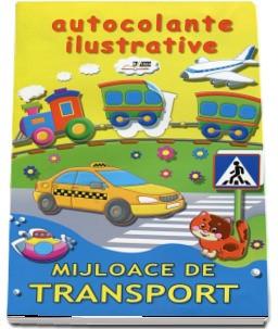 Autocolante ilustrative. Mijloace de transport