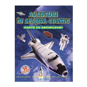 Aventuri în Spațiul Cosmic. Carte cu Abțibilduri