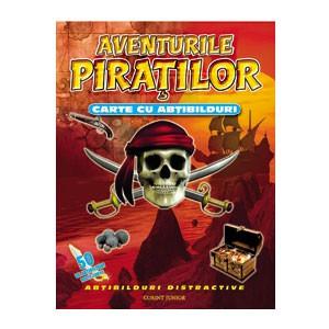 Aventurile Piraților. Carte cu Abțibilduri