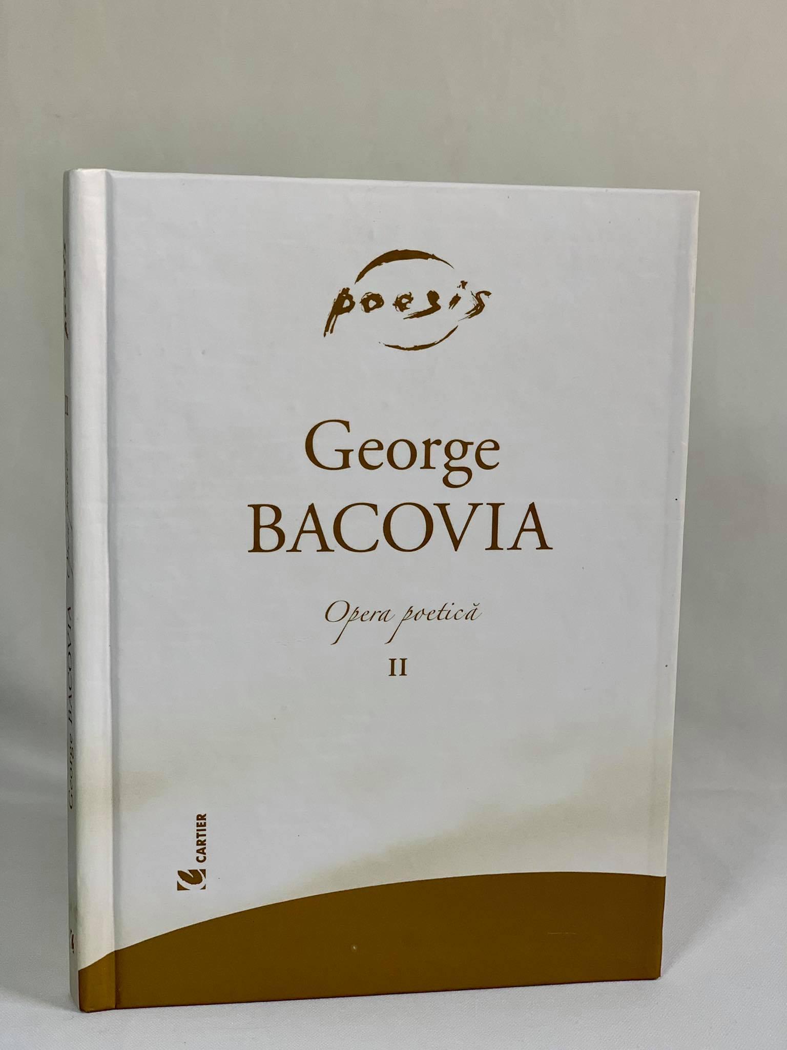 George Bacovia Opera Poetică vol 2