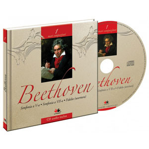 Beethoven, Mari compozitori, Vol. 1 [Carte + Audio CD]