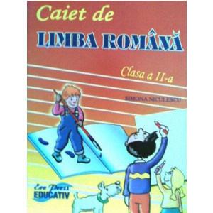 Caiet de Limba Română Pentru Clasa a II-a