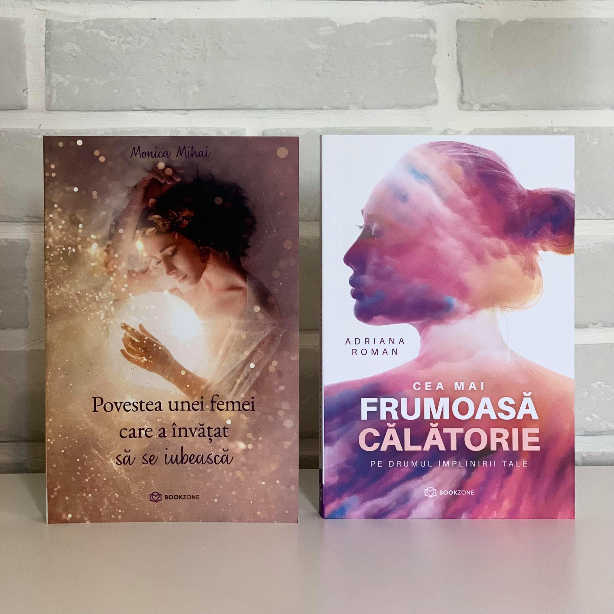 """Pachet """"Cea mai frumoasă călătorie"""" și """"Povestea unei femei care a învățat să se iubească"""""""