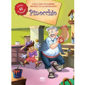 Cele mai frumoase povești cu autocolante. Pinocchio