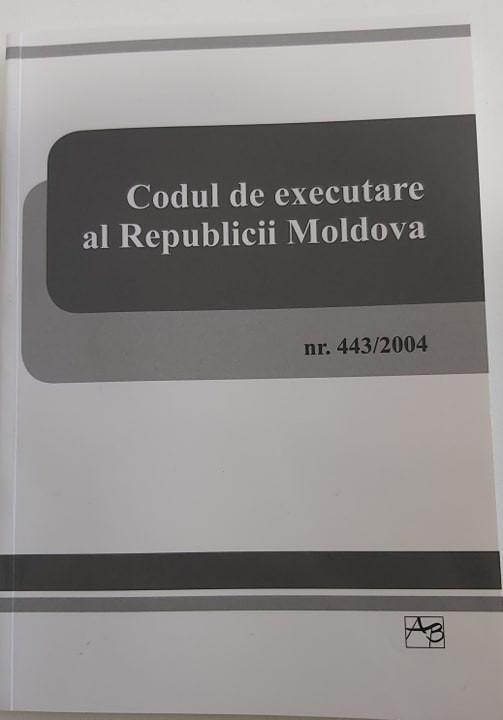 Codul de executare a Republicii Moldova