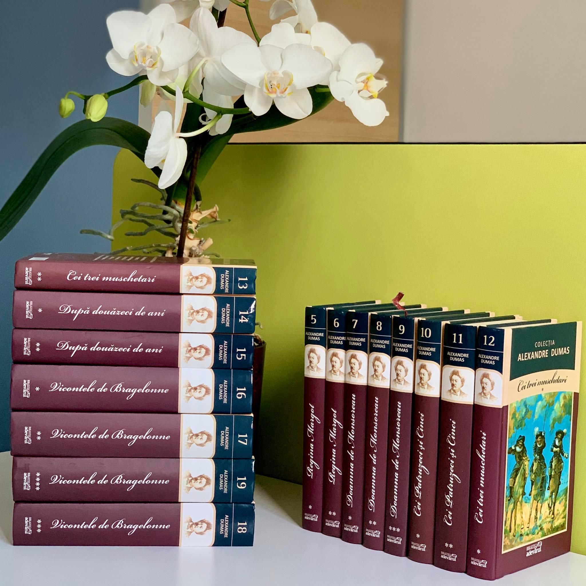 Colecția Alexandre Dumas în 15  Volume