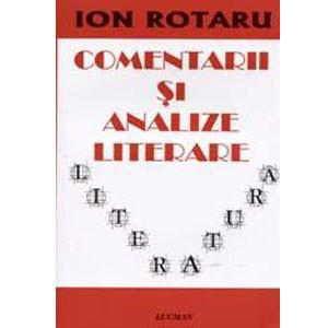 Comentarii şi Analize Literare