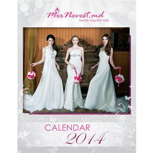 Calendar de Perete 2014 - Nunta Visurilor Tale