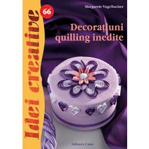 Decorațiuni Quilling Inedite. Idei Creative - 66