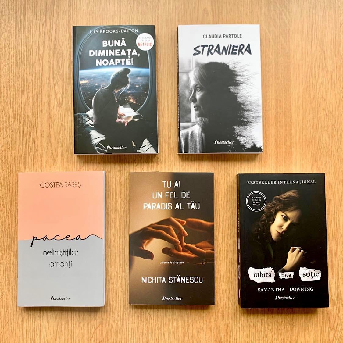 Setul Bestseller 2021: Setul de 5 cărți Bestseller