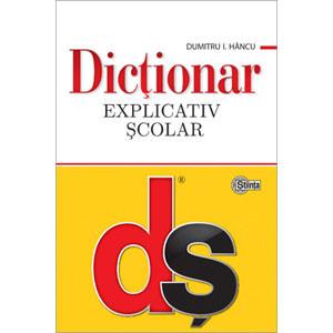 Dicționar explicativ şcolar [Copertă moale]