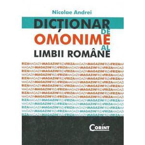 Dicționar de Omonime al Limbii Române