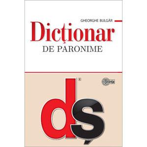 Dicţionar de paronime [Copertă moale]