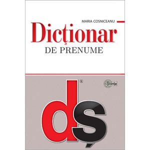 Dicţionar de prenume [Copertă moale]