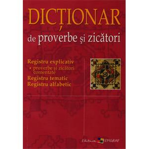 Dicționar de proverbe și zicători
