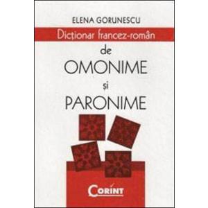 Dicționar Francez-Român de Omonime și Paronime