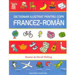 Dicționar ilustrat pentru copii francez-român