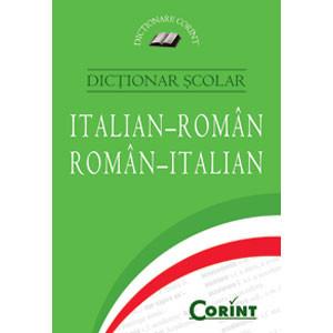 Dicționar școlar italian-român, român-italian