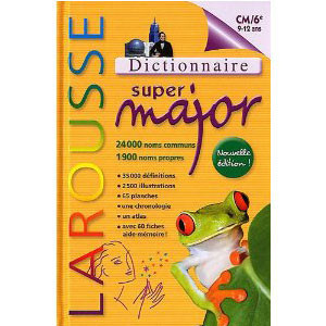 Dictionnaire Super Major