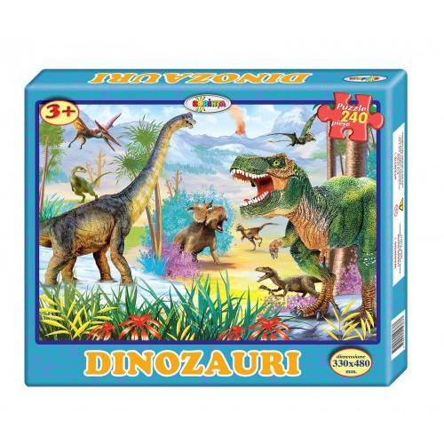 Puzzle Dinozauri 240ps