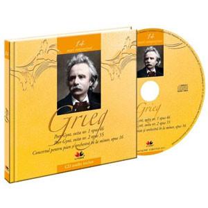 Edvard Grieg, Mari compozitori, Vol. 14 [Carte + Audio CD]