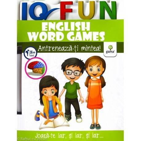 Iq Fun. English Word Games (+8 ani)
