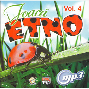 Joacă Etno. Vol. 4 [MP3 CD]