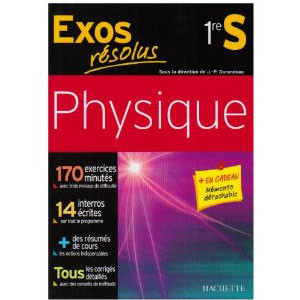 Exos Résolus, Physique 1re S