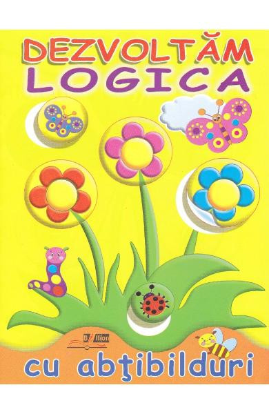 Dezvoltam logica cu abtibilduri: Flori