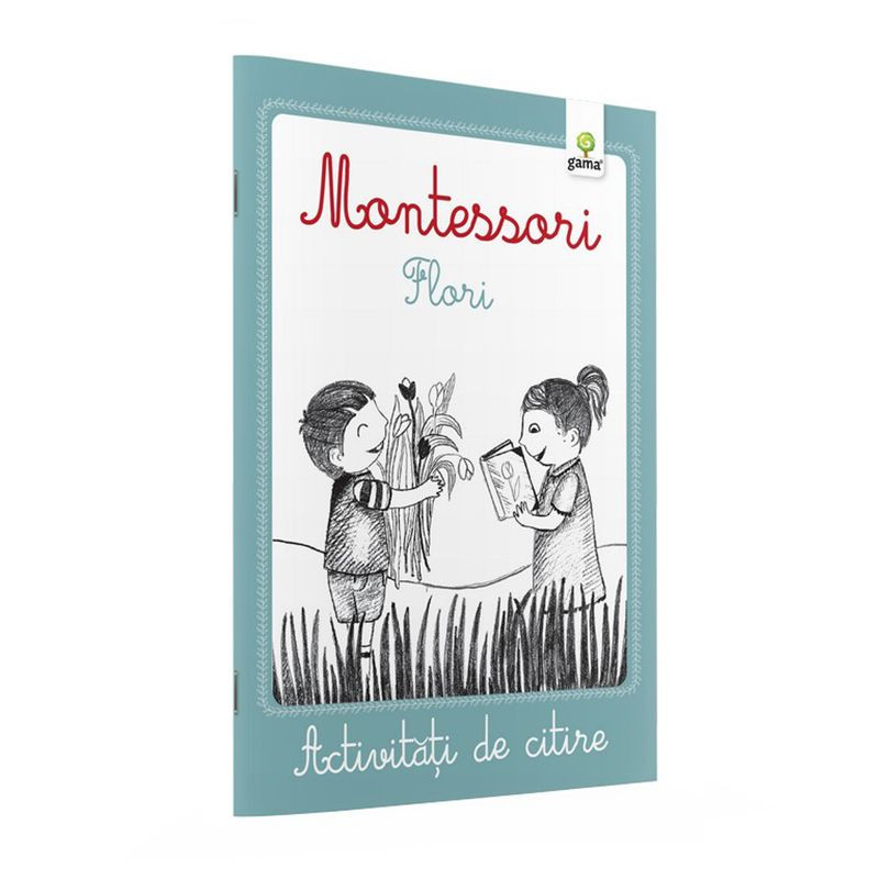 Montessori. Flori - Activitati de citire