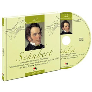 Franz Schubert, Mari compozitori, Vol. 22 [Carte + Audio CD]