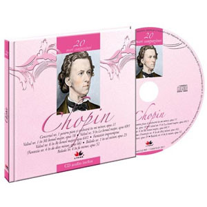 Frederic Chopin, Mari compozitori, Vol. 20  [Carte + Audio CD]