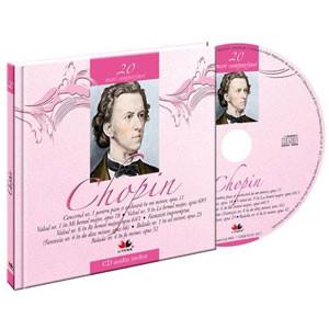 Frederic Chopin, Mari compozitori, Vol. 20  [Carte + Audio CD]