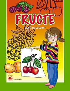 Fructe Carte de colorat