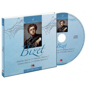 Georges Bizet, Mari compozitori, Vol. 4 [Carte + Audio CD]