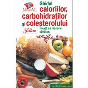 Ghidul caloriilor, carbohidraţilor şi colesterolului Interior alb-negru