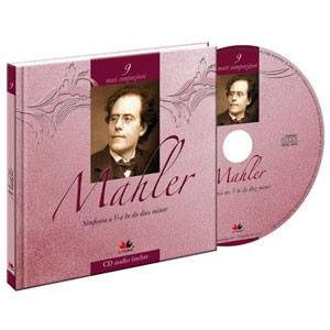 Gustav Mahler, Mari compozitori, Vol. 9 [Carte + Audio CD]