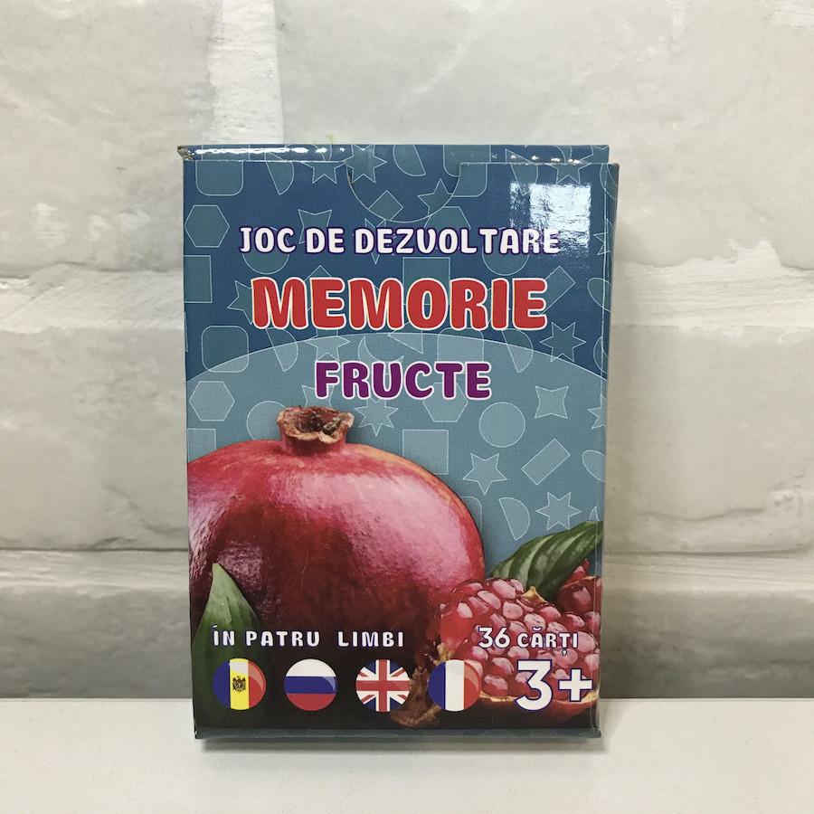 Joc de memorie. Fructe