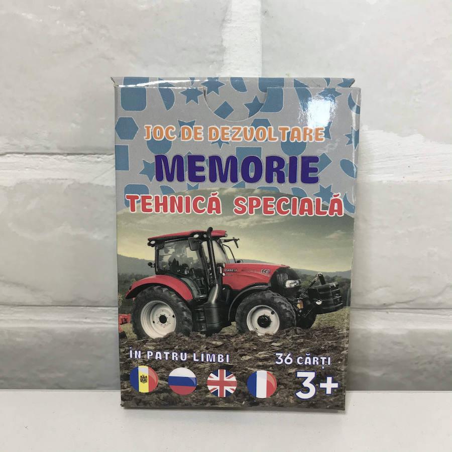 Joc de memorie. Tehnică specială