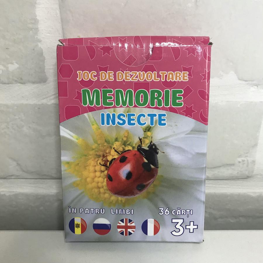 Joc de memorie. Insecte
