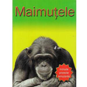 Include proiecte amuzante. Maimuțele