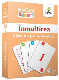 Înmulțirea, Cărți de joc Educative, Expert
