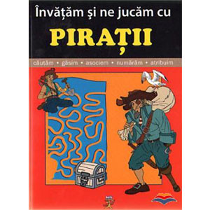 Învățăm și ne jucăm cu pirații