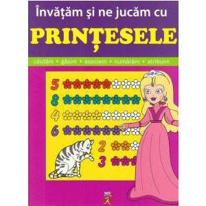 Învățăm și ne jucăm cu Prințesele