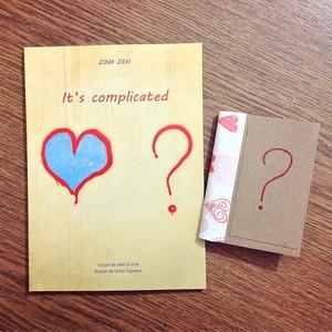 It's complicated + Mini notebook pentru notițe memorabile de la Book Me [Pachet Promoțional]