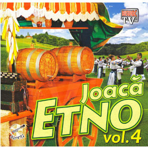 Joacă Etno. Vol. 4 [Audio CD]