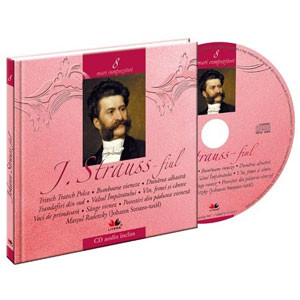 Johann Strauss-fiul, Mari compozitori, Vol. 8 [Carte + Audio CD]