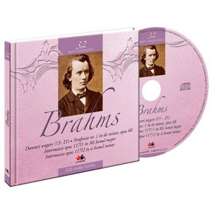 Johannes Brahms, Mari compozitori, Vol. 32 [Carte + Audio CD]